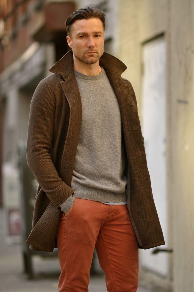 How to Wear a Brown Overcoat (71 looks)   Men's Fashion