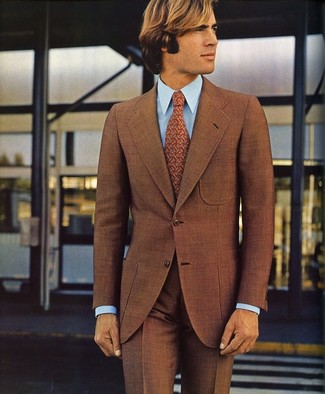 How to Wear a Brown Suit (86 looks) | Men's Fashion