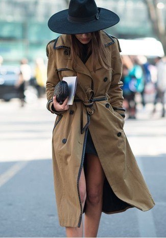 Sophia Leather Wristlet