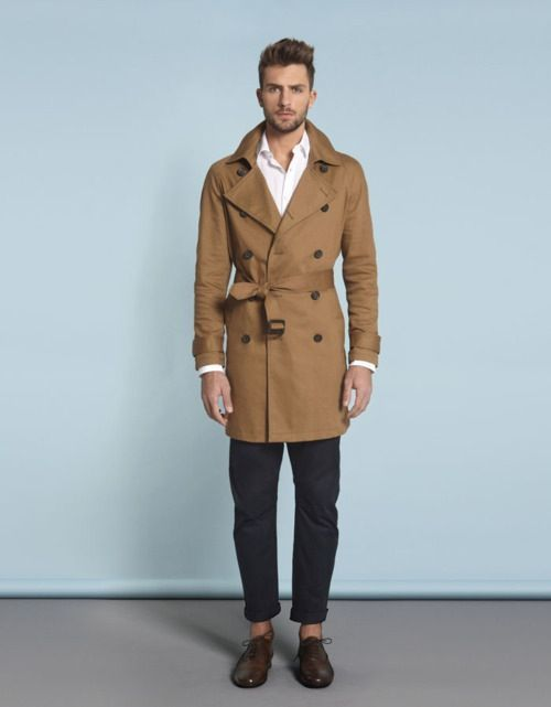 How to Wear a Brown Trenchcoat (13 looks) | Men's Fashion