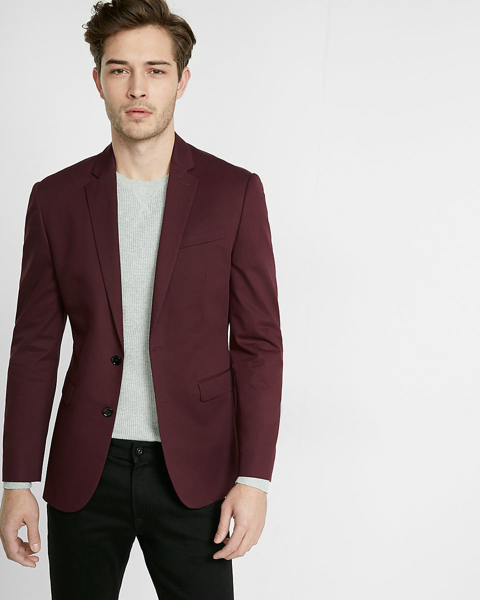 Black And Burgundy Suit Hairstyle Of Nowdays