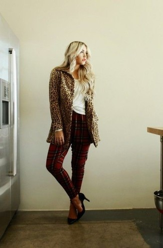 Leopard Pattern Coat