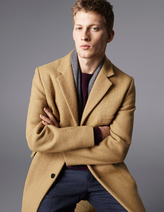 Buttoned Up Longsleeved Coat