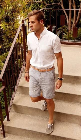 Tenis grises de Philippe Model