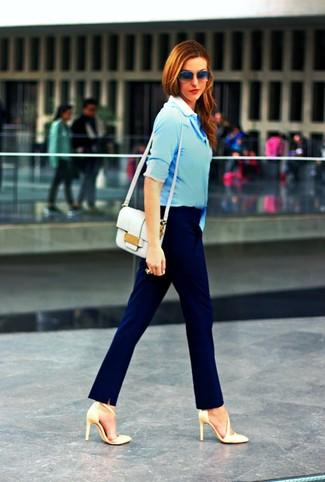 Ciel Bleu Chaussures Formelles Pour Les Femmes Y11MLk