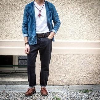 Dark Wash Vintage Slim Jeans