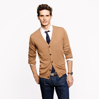 How to Wear a Tan Cardigan (69 looks) | Men's Fashion