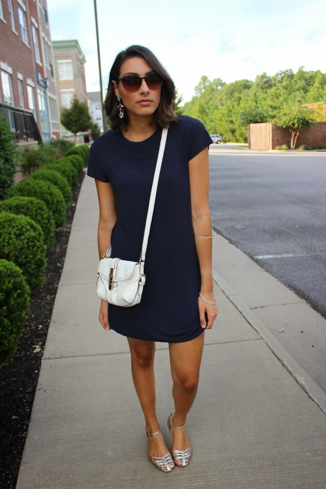 Navy Casual Dress – Fashion dresses