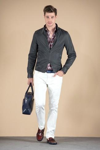 Pantalón chino blanco de Dolce & Gabbana
