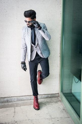 6677ea076fe Cómo combinar unas botas de cuero rojas (78 looks de moda)