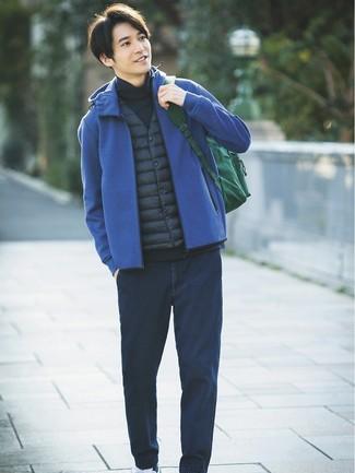 Chaleco de abrigo azul marino de Polo Ralph Lauren