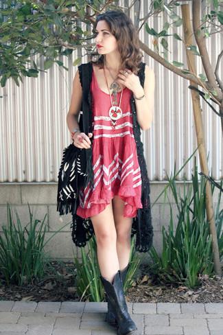 Cómo Combinar Un Chaleco Con Un Vestido De Tirantes 3 Looks