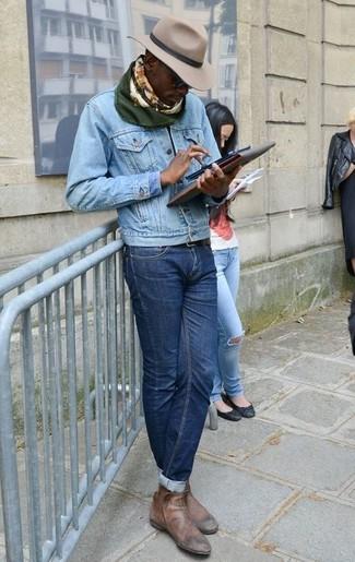 De Con Moda 291 Looks Botines Unos Vaqueros Chelsea Vestir xgtcq47