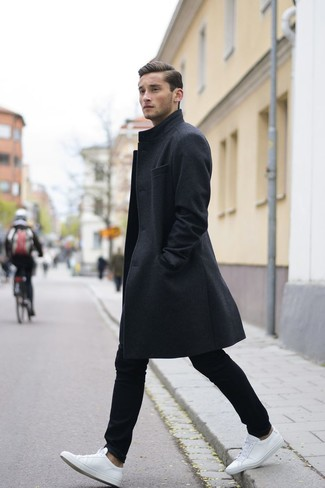 Single Breasted Buttoned Coat
