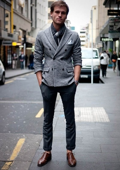 Elegant Men39s Beige Banana Republic Sweaters Dark Brown Aldo Shoes  QuotI GOT