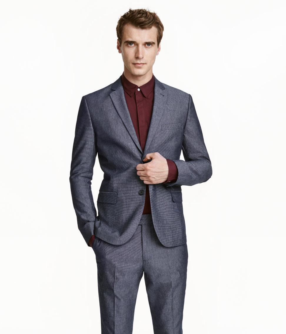 Best color dress shirt with charcoal suit