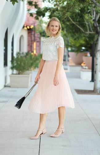 comment porter une jupe blanche et rose en 2017 (178 tenues