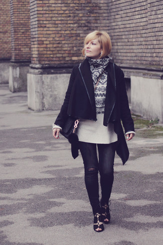 Argeline Long Hooded Raincoat