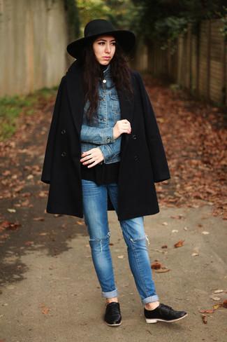 Riko Leather Oxfords