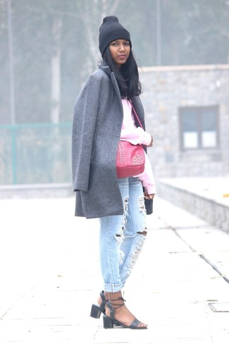 cd88900a49ef Women s Grey Coat