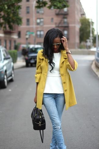 Straight Pockets Coat