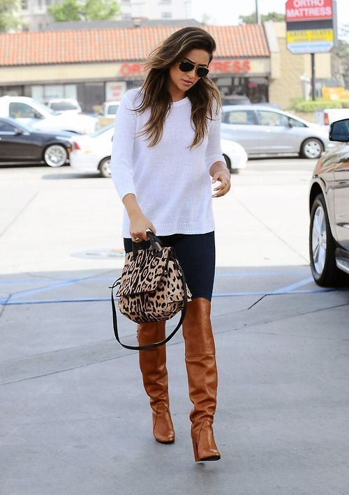 Tan Over The Knee Boots - Yu Boots