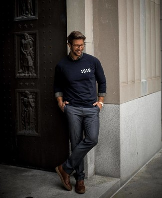 College Jersey Sweatshirt