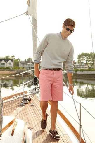 How to Wear Pink Shorts (22 looks) | Men's Fashion