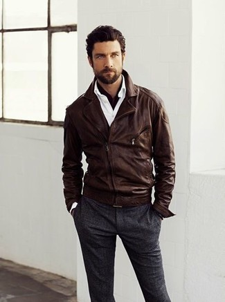 How To Wear: The Leather Jacket | Men&39s Fashion