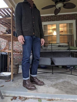 Red Wing Heritage 6 Moc Toe Lace Up Boots