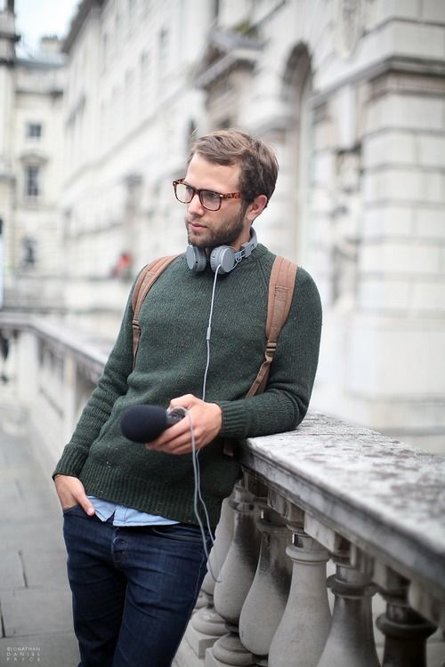 How to Wear a Dark Green Crew-neck Sweater (53 looks) | Men's Fashion