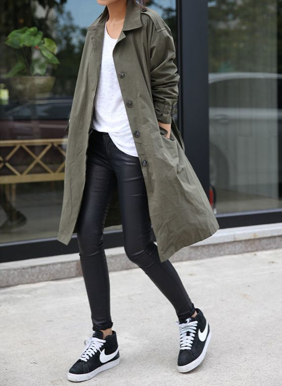 nike blazers womens green suede jacket