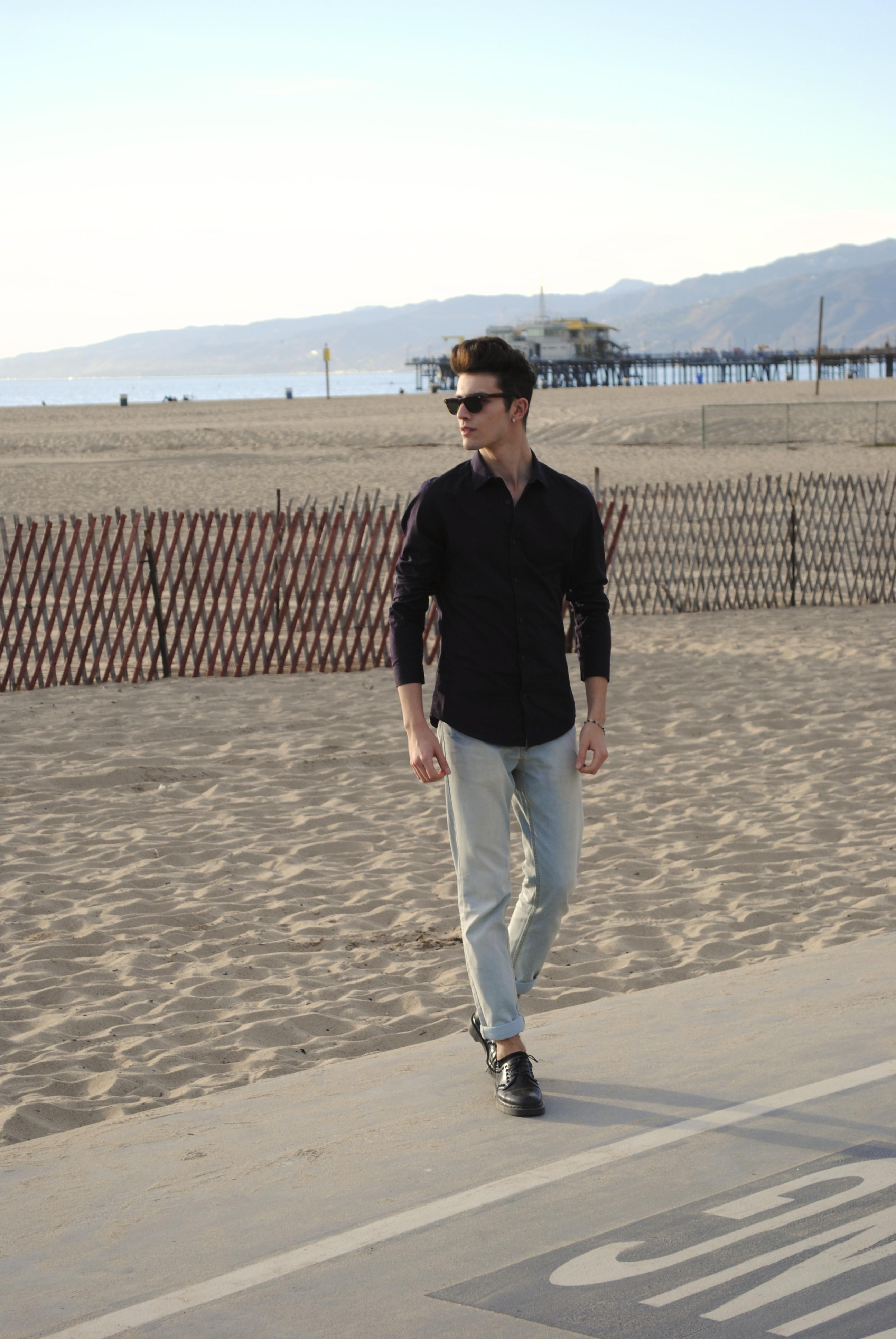 How to Wear a Dark Purple Long Sleeve Shirt (29 looks) | Men's Fashion