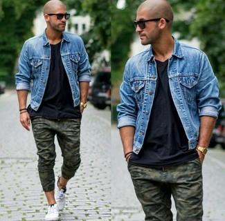 Blue Denim Jacket | Men's Fashion