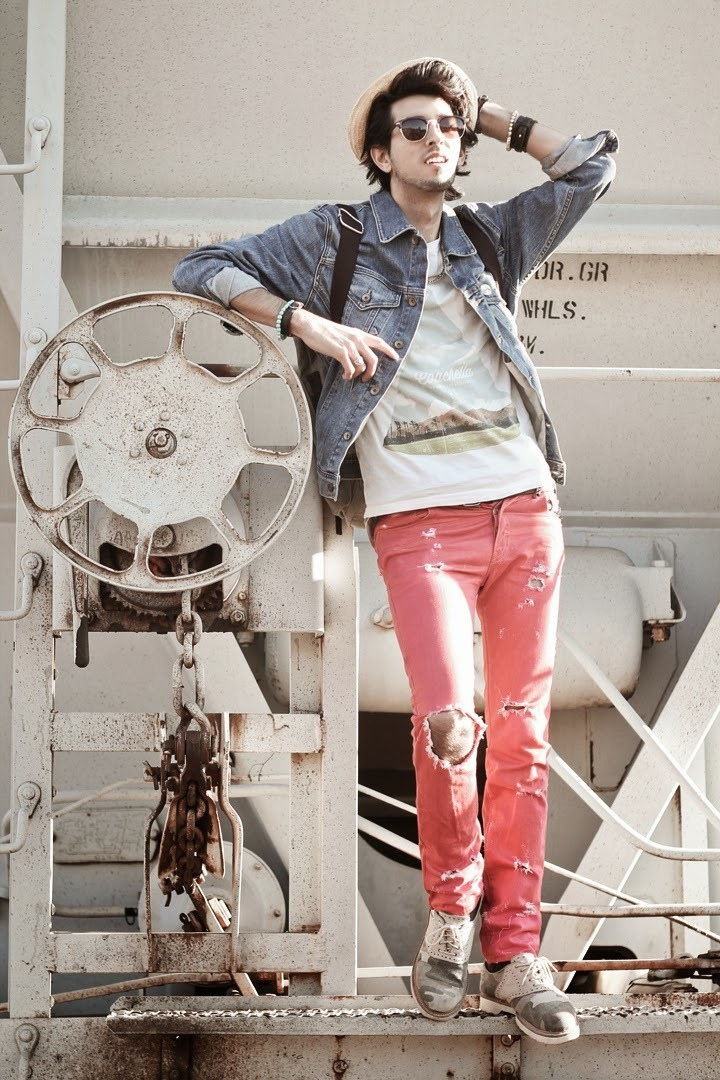 Hot Pink Jeans Outfits For Men 8 Ideas Outfits Lookastic