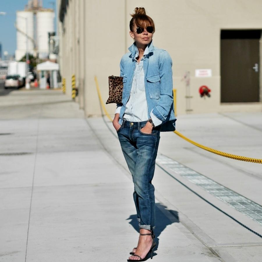 Boyfriend Jean Jacket Outfit