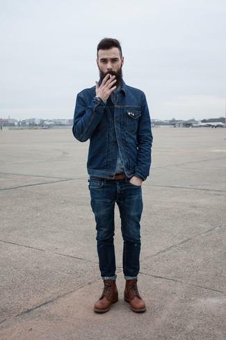 Denim Shirt Jacket Men