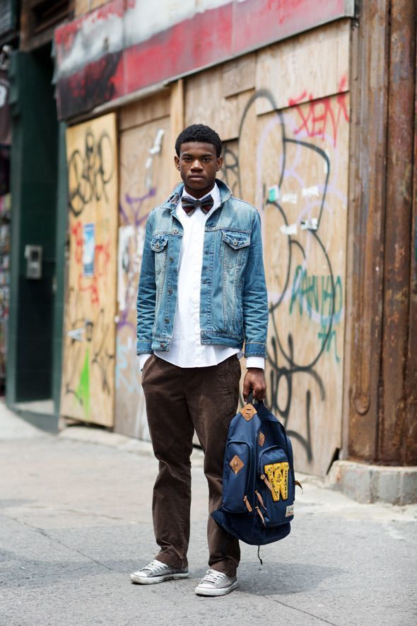 How To Wear a Denim Jacket With a White Dress Shirt | Men's Fashion