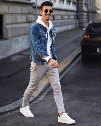 6592a6aa992 How to Wear a White Hoodie For Men (43 looks   outfits)