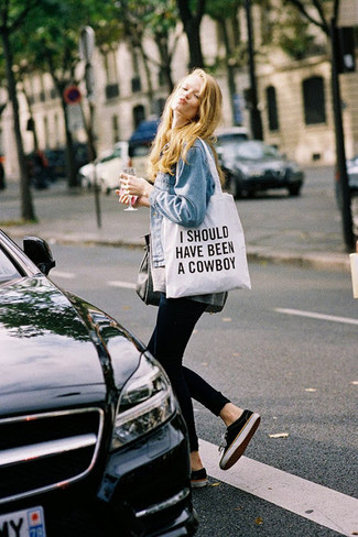 Mm6 Printed Canvas Tote