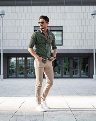 Wear dark with khakis what to 15 Ways