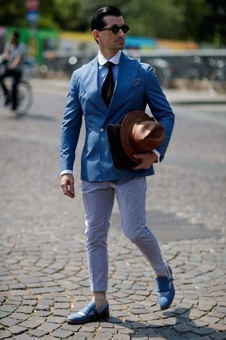 Blue Loafers Outfits For Men (486 ideas