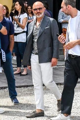 Brit Steadman Slim Fit Jeans White