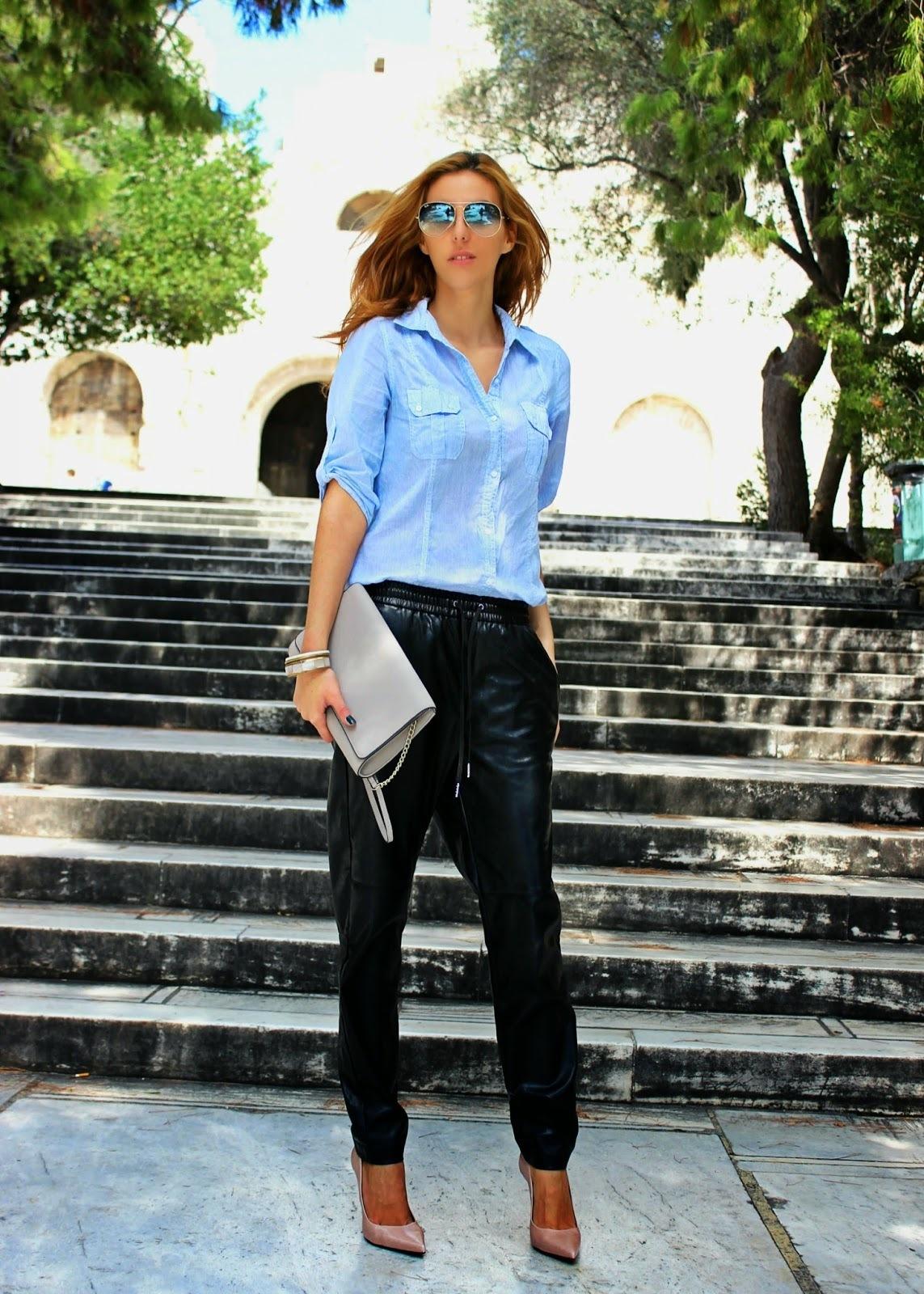 Light Blue Dress Pants