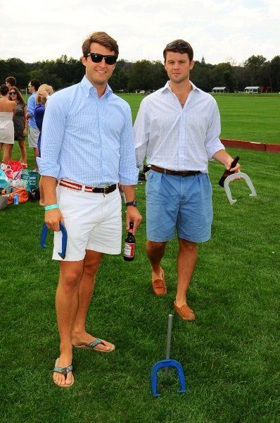 How To Wear White Shorts With a Light Blue Dress Shirt   Men's Fashion