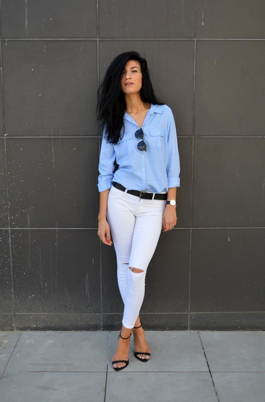 How to Wear White and Black Skinny Jeans (269 looks) | Women's Fashion