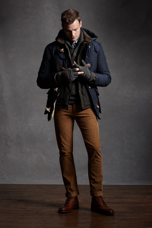 Men's Navy Duffle Coat