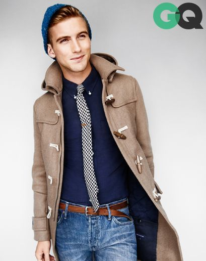 How to Wear a Camel Duffle Coat (18 looks) | Men's Fashion