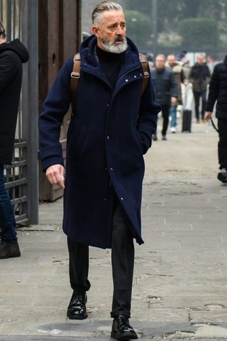 Regular Wool Commuter Duffle Coat