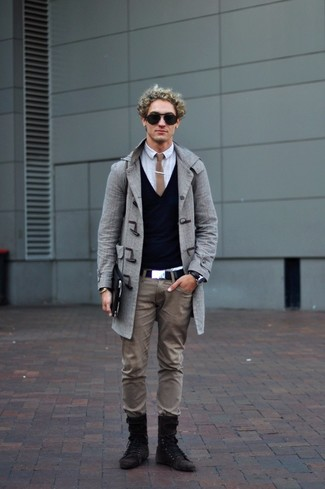 Jey Knitted Duffle Coat